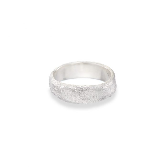 Reticulated band Silver