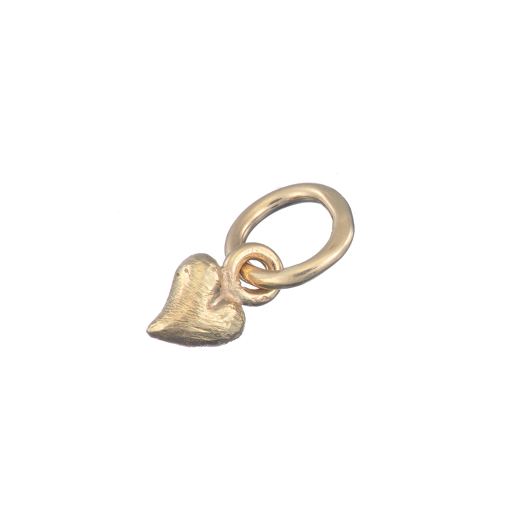 Baby Heart Pendant, 9ct yellow gold