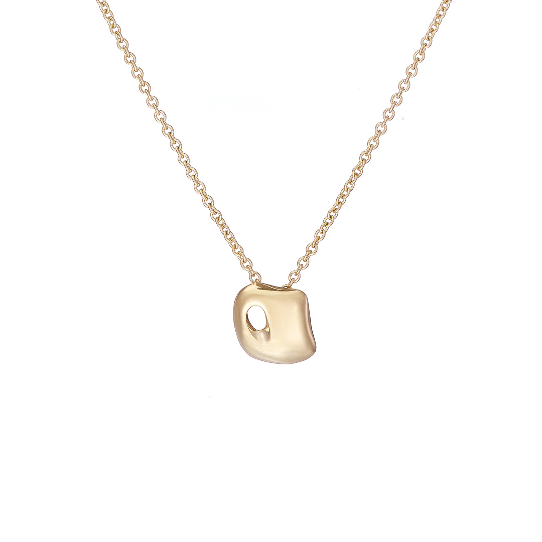 Gaudi Pendant 9ct yellow gold