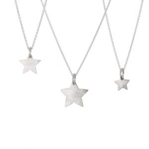 Star Pendants Silver