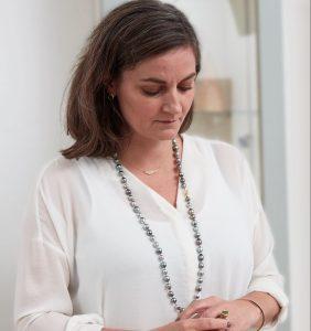 Opera length Tahitian pearls