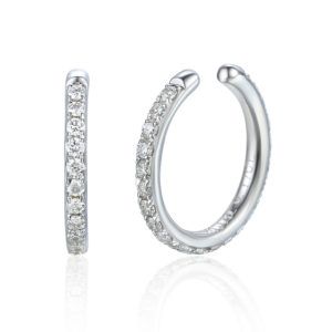 Ear Cuff, white gold and diamond fully set