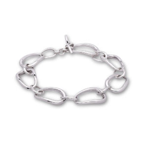 Ellipse Bracelet Silver