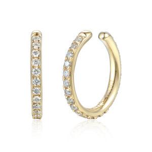 Ear Cuff, Yellow gold and diamond fully set